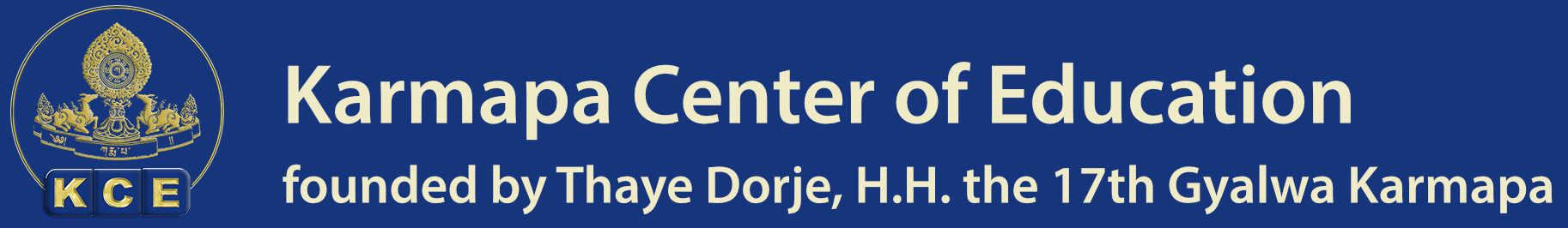 Karmapa Center of Education (KCE), a Buddhist model school founded by Thaye Dorje, H.H. the 17th Gyalwa Karmapa